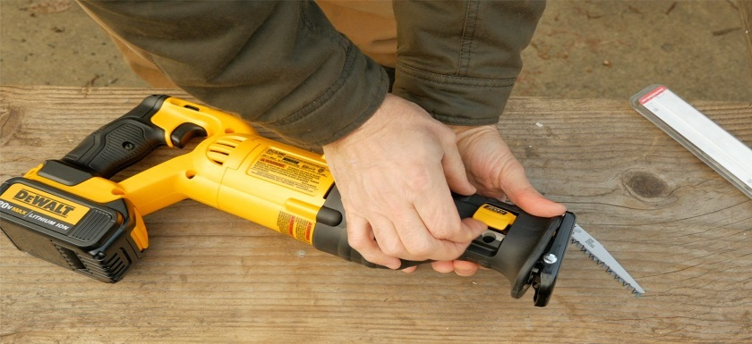 DEWALT DCS380B Reciprocating Saw Review